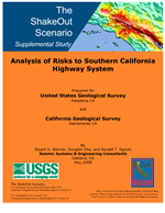 Cover of The ShakeOut Scenario Supplemental Study: Analysis of Risks to Southern California Highway System