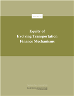 Cover of Equity of Evolving Transportation Finance Mechanisms