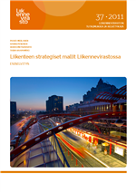Cover of Strategic transport models in the Finnish Transport Agency