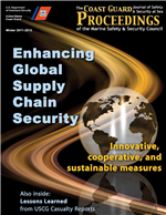 Cover of The Coast Guard and Customs and Border Protection Partnership. Securing an Evolving Maritime Supply Chain