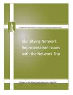 Cover of Identifying Network Representation Issues with the Network Trip Robustness