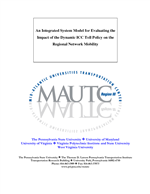 Cover of An Integrated System Model for Evaluating the