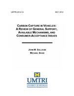 Cover of Carbon Capture in Vehicles: A Review of General Support,