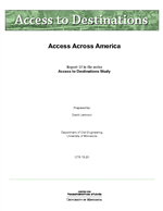 Cover of Access Across America