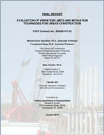 Evaluation of Vibration Limits and Mitigation Techniques for