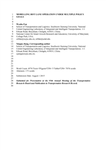 transportation research record journal