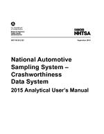 National Automotive Sampling System–Crashworthiness Data