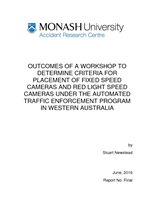 Outcomes of a workshop to determine criteria for placement of fixed