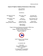 Impact of Freight on Highway Infrastructure in New Jersey
