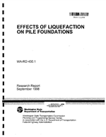EFFECTS OF LIQUEFACTION ON PILE FOUNDATIONS