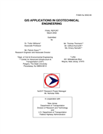 Cover of GIS APPLICATIONS IN GEOTECHNICAL ENGINEERING