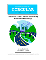 statewide travel demand forecasting conference proceedings, irvine
