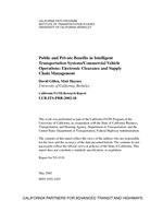 Public and Private Benefits in Intelligent Transportation Systems