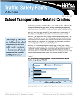 Cover of Traffic Safety Facts 2007 Data: School Transportation-Related Crashes