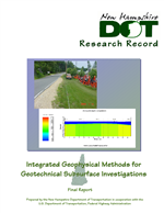 Cover of Integrated Geophysical Methods for Geotechnical Subsurface Investigations