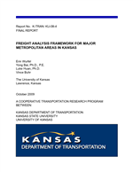 Cover of Freight Analysis Framework for Major Metropolitan Areas in Kansas